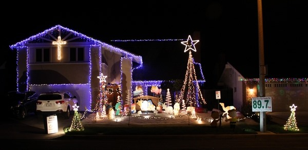 Map To The Best Christmas Lights In South Orange County